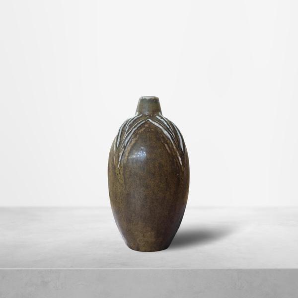 "Axel Salto for Royal Copenhagen, small ""Living Stone"" Ceramic Vase, 1950s"