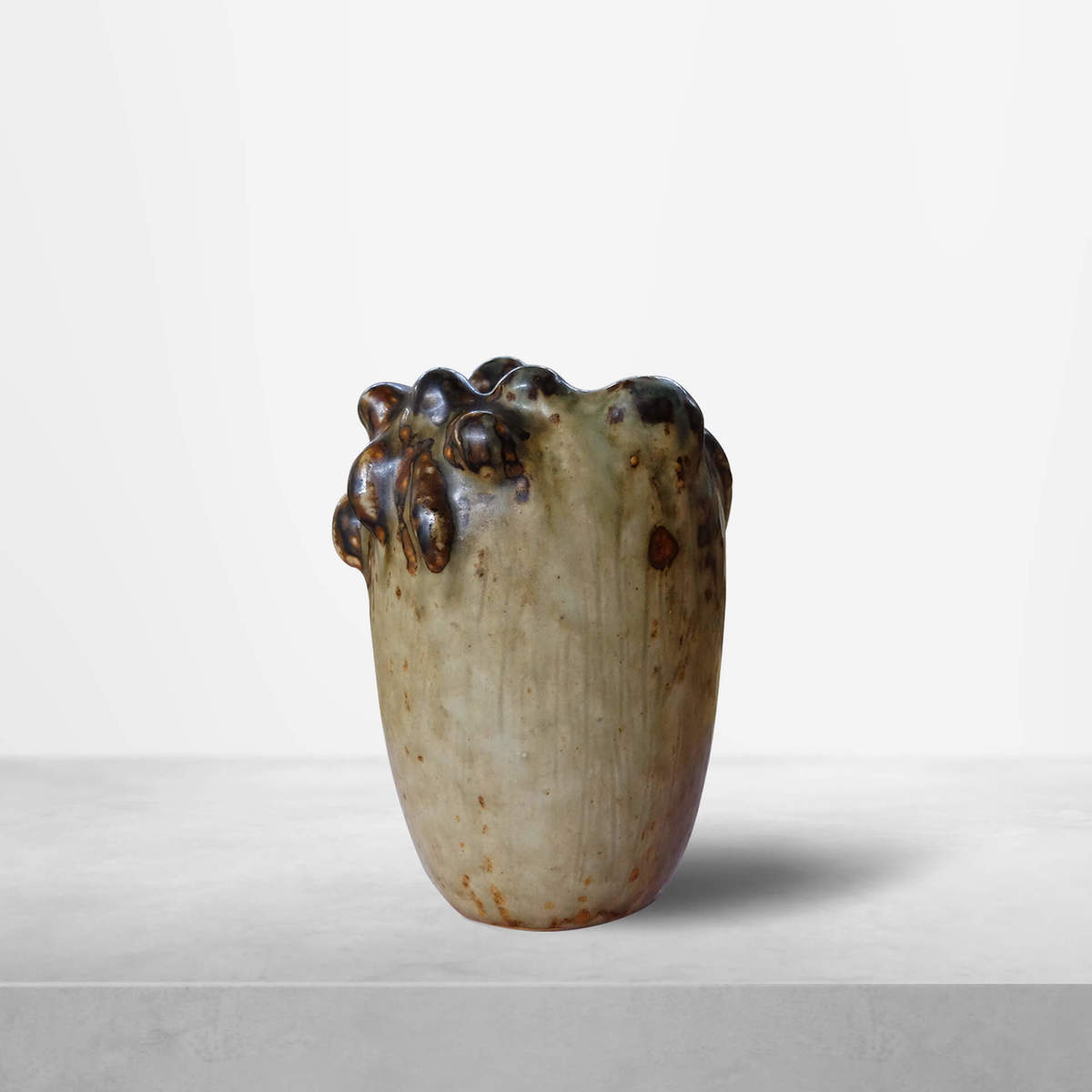 """Axel Salto for Royal Copenhagen, Danish Mid-Century """"Budding Vase"""" , 1953"""