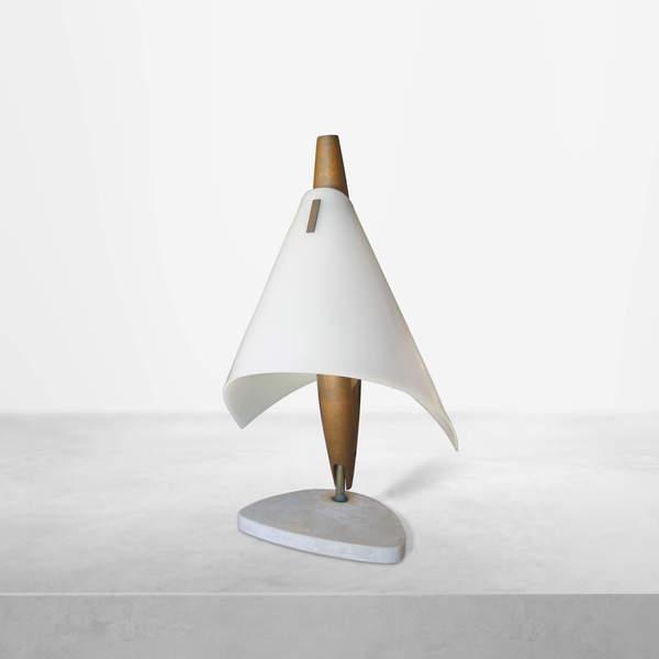 Angelo Lelli for Arredoluce, Italian Mid-Century rare table lamp , 1950