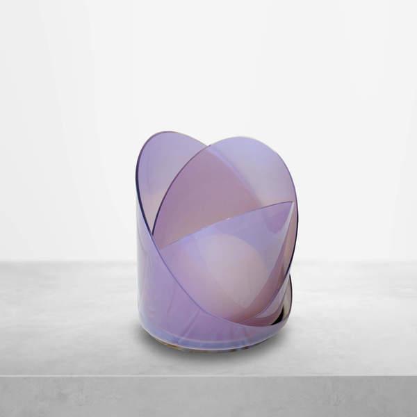 "Carlo Nason for Mazzega, Italian Mid-Century Modern, LT300 ""Calla"" Glass Lamp, 1960s"