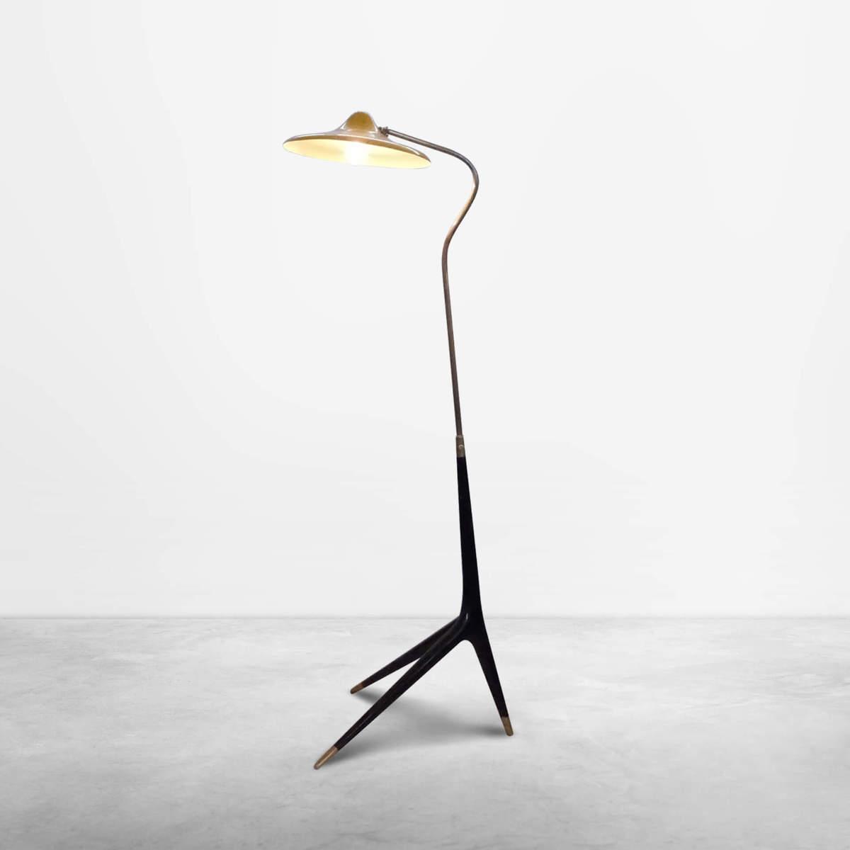 italian Mid-Century Modern, Floor Lamp in the Style of Franco Albini, 1950s