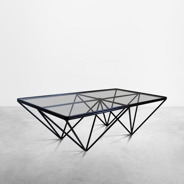 """Alanda"" Coffee Table by Paolo Piva, Produced by B&B Italia, 1980"