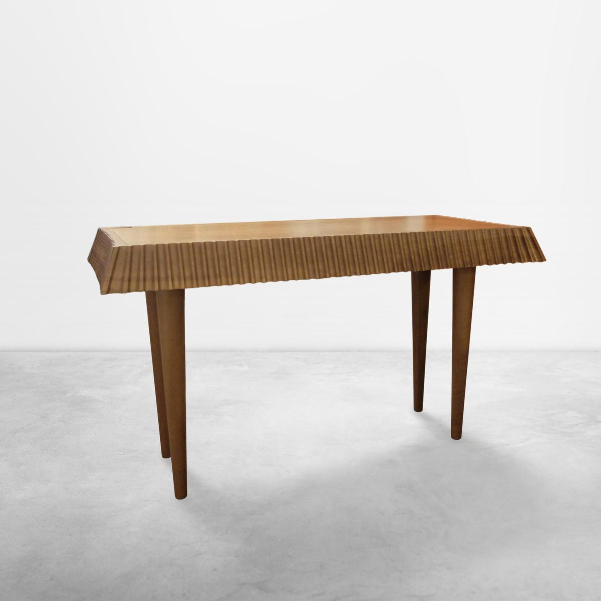 "Ugo La Pietra for Boffi, Original Protoype of ""Ballerina"" Consolle in Wood, 1987"