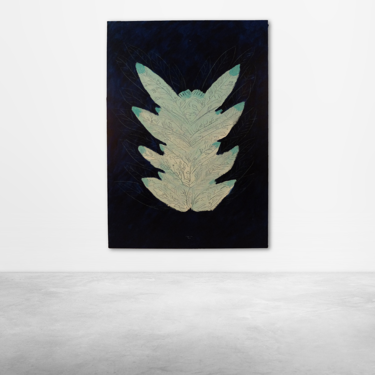 "Ugo La Pietra, ""Dal Giardino delle Delizie"" Acrylic on Canvas, 2016"