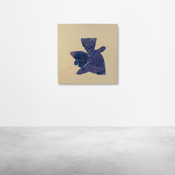 """Ugo La Pietra, """" Giardino Delle Delizie' """" Acrylic on Canvas, 2018"""