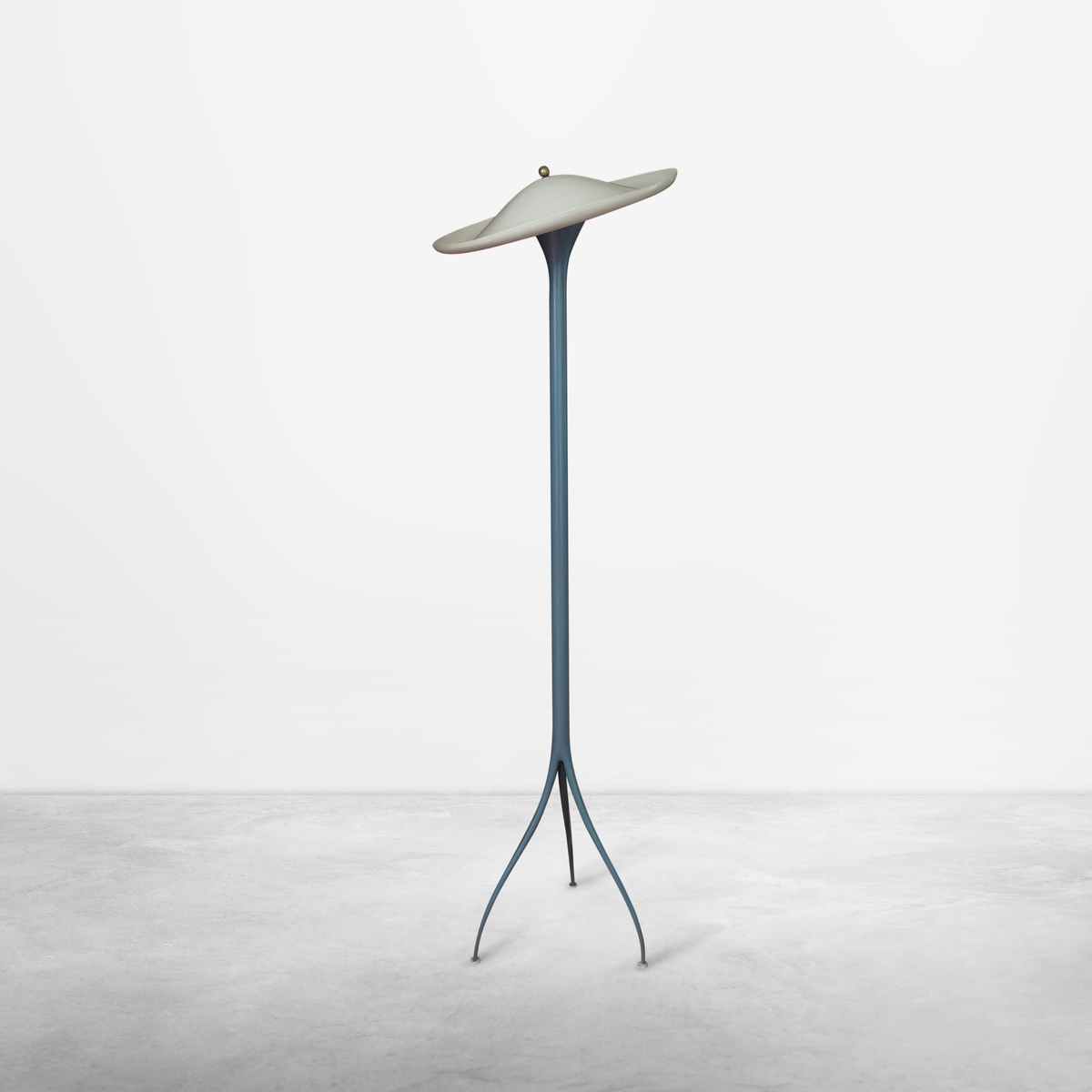 "Angelo Lelli for Arredoluce, Rare ""Vogue"" Mid-Century Floor Lamp, 1950, Italy"