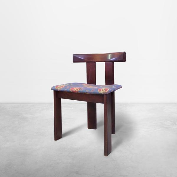Vico Magistretti, Set of Six wooden chairs, 1950s