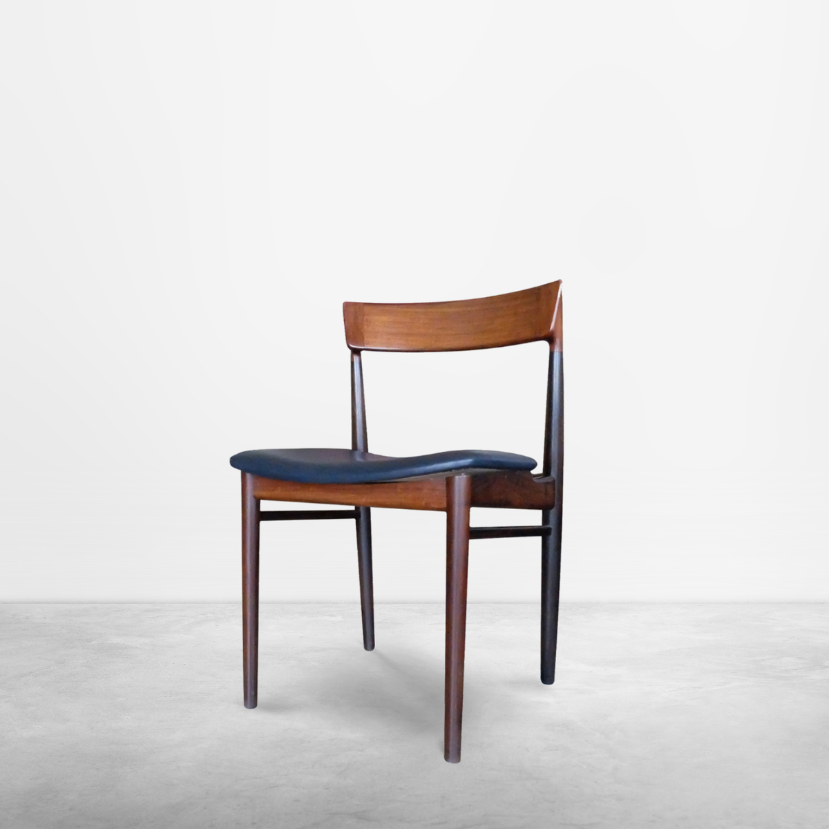 "Henry Rosengren Hansen,  Scandinavian Set of Six ""Model 39"" Dining Chairs, 1960s"