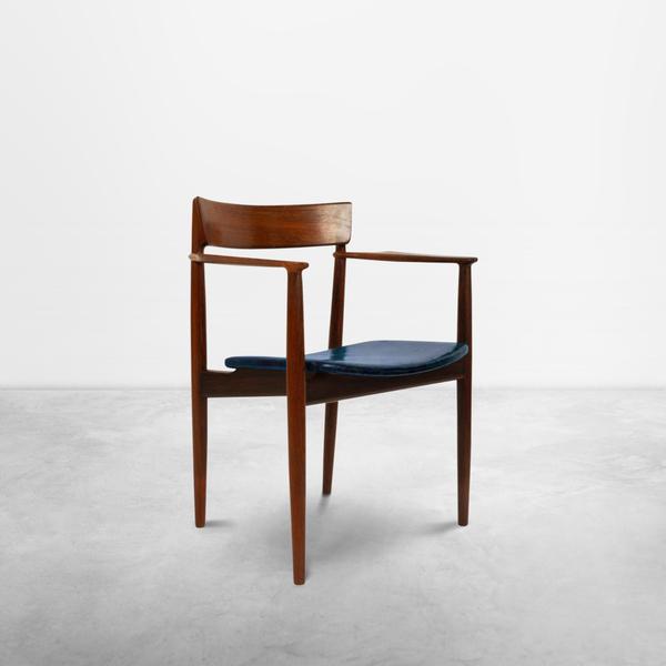 "Henry Rosengren Hansen,  Scandinavian Set of Two ""Model 39"" Dining Chairs, 1960s"