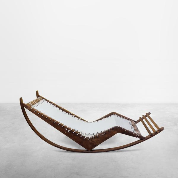 Franco Albini & Franca Helg for Poggi, Mid-century Rocking Chair Mod. PS16, 1956