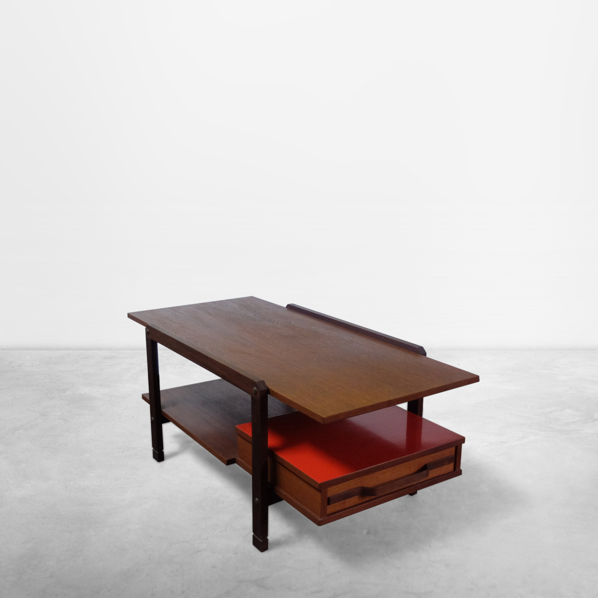 Italian Mid-Century Modern Rationalist Coffee Table, 1950s