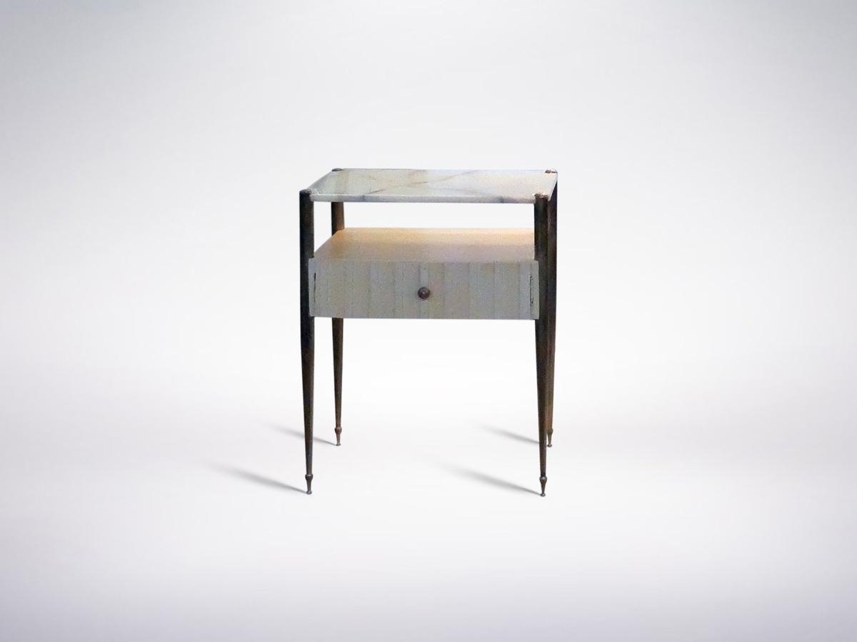 Osvaldo Borsani, Mid-century Onyx Drawer Cabinet, circa 1950, Italy