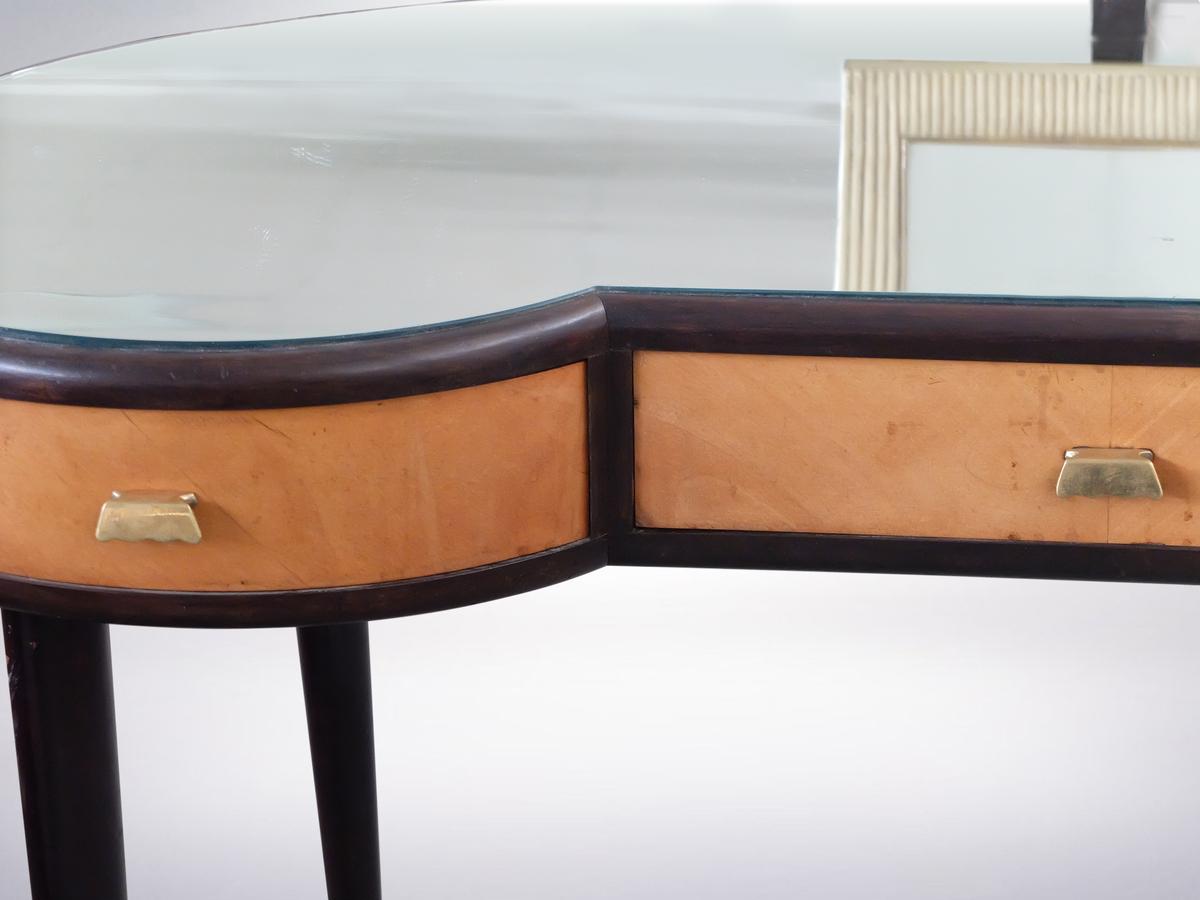 Osvaldo Borsani, Glass Top Dresser Table , circa 1950