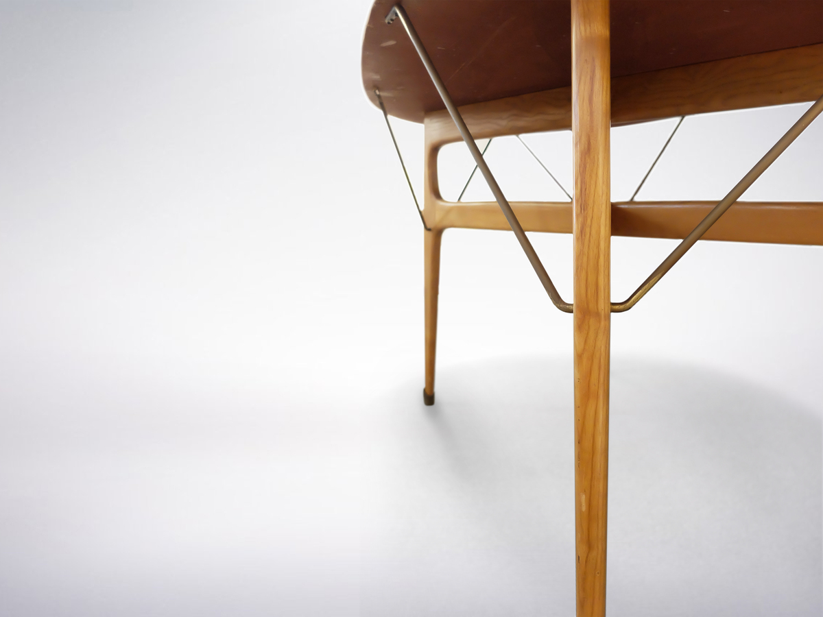 Ico and Luisa Parisi, Modern Wooden Dining Table, circa 1950