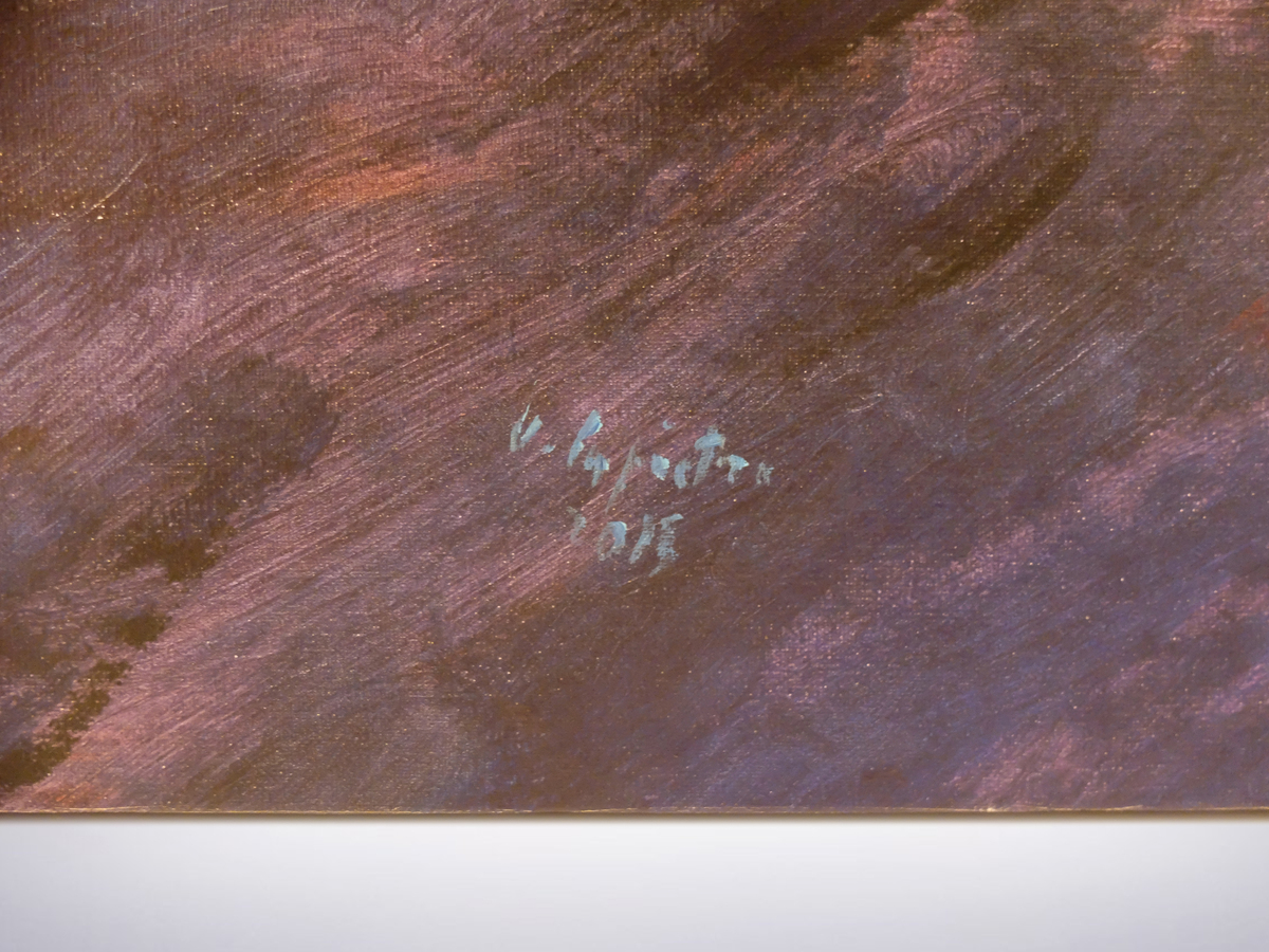"Ugo La Pietra, "" Bosco In Citta' "" Acrylic on Canvas, 2015"