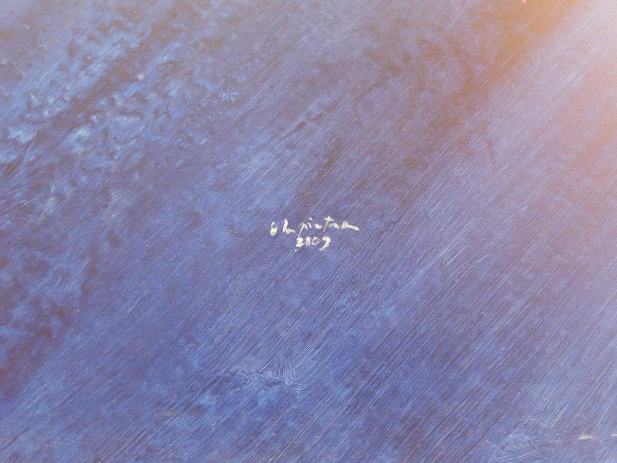 """Ugo La Pietra, """" Genius Loci' """" Acrylic on Canvas, 2009"""
