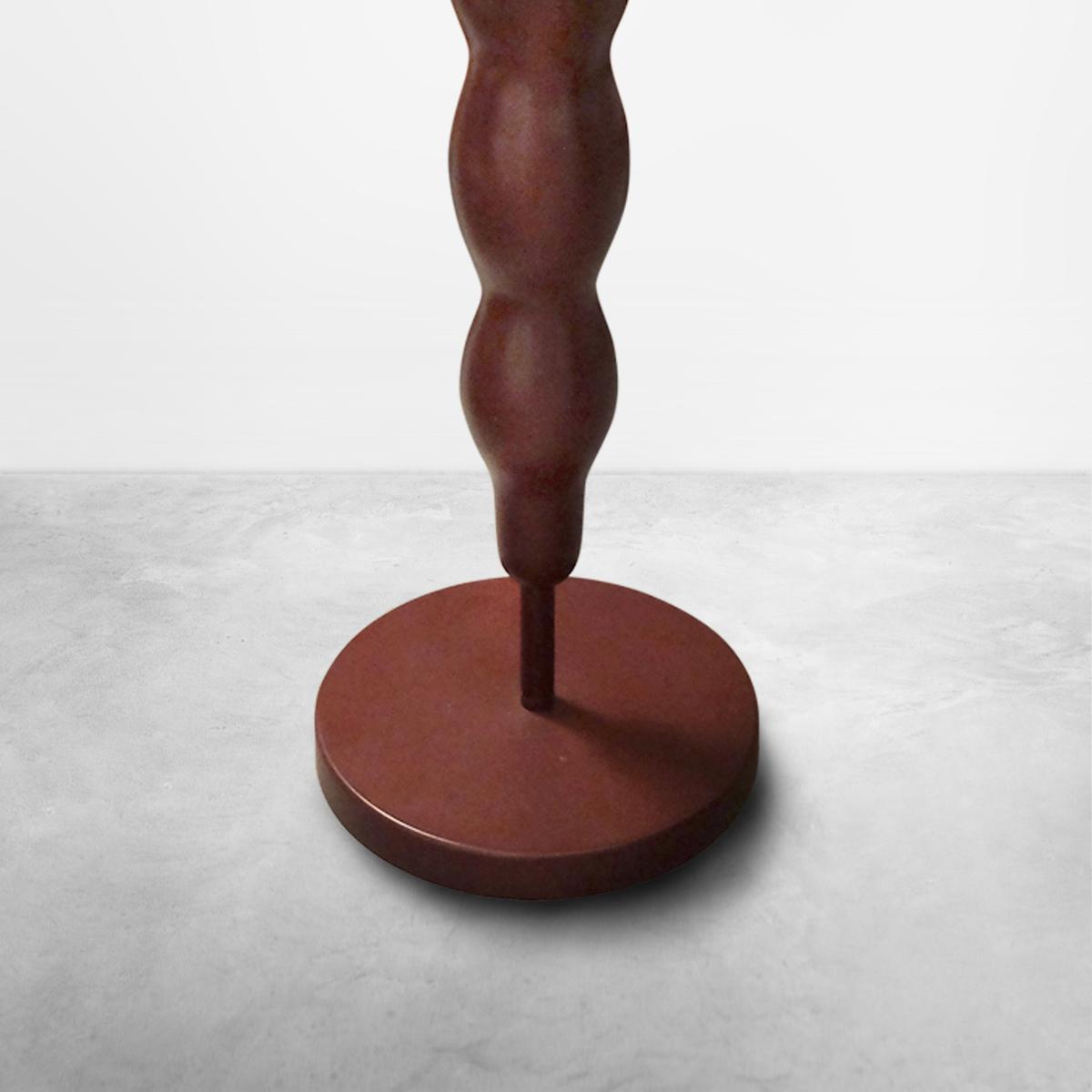 "Ugo La Pietra, Original Prototype of ""Itinerari"" Wooden Table, 1978"