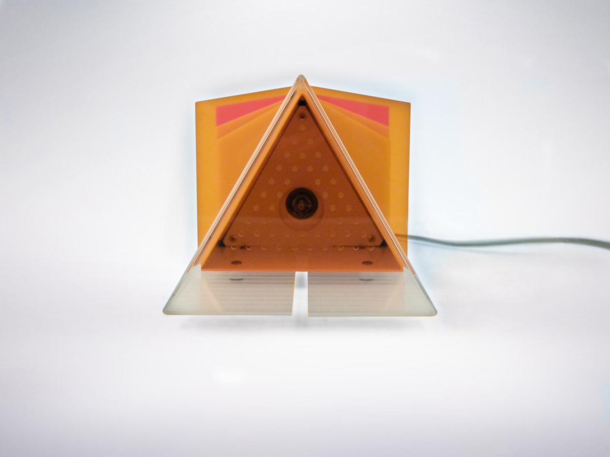"Ugo La Pietra Original Prototype of ""Triangolo"", 1966"