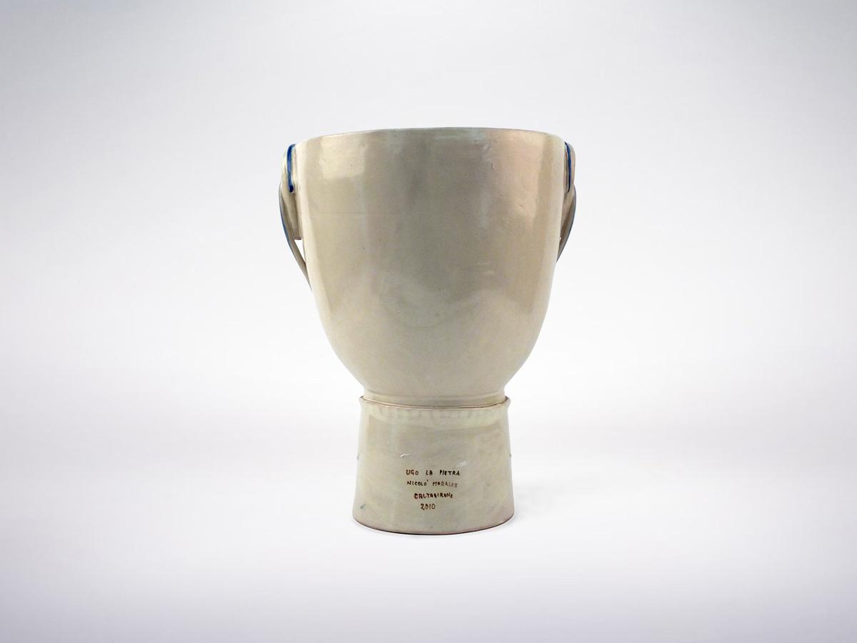 "Ugo La Pietra, Porcelain ""Medico"" Vase, 2010"